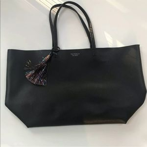 Victoria's Secret Large Tassel Tote Purse Bag